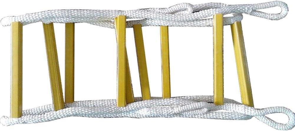 Escalera de emergencia for escapes de incendios, Escalera de incendios de gran altura Escalera de rescate de emergencia for el hogar Trabajo aéreo Escalera de cuerdas Entrenamiento Escalera de escalad: Amazon.es: Hogar