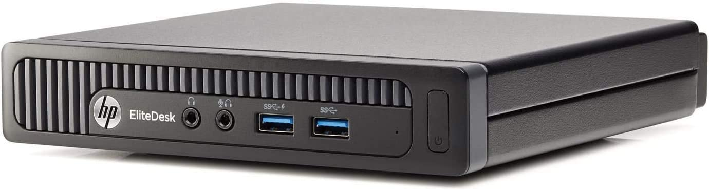 HP EliteDesk 800 G1 Tiny Mini Business Desktop Computer, Intel Quad Core i7-4758T Processor up to 3.20 GHz, 8GB RAM, 500GB, WiFi, Windows 10 Pro (Renewed)
