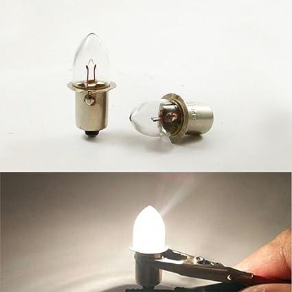 Flanged 7a 4v 68w Bulb P13 Indicator Kpr Flashlight 5s 2 1 0 Base dWCxroBe