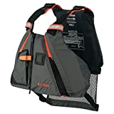 ONYX MoveVent Dynamic Paddle Sports Life Vest, Orange, Medium/Large (Renewed)