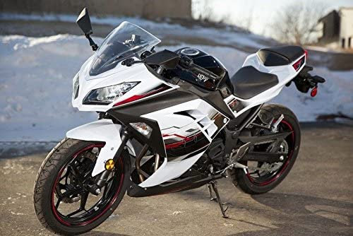 Black White Red Complete Fairing Injection for 2013-2017 Kawasaki Ninja 300 2014 EX300R EX-300R