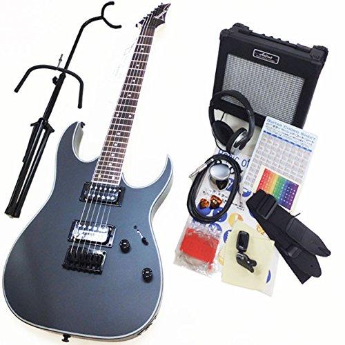 エレキギター 初心者セット Ibanez アイバニーズ RG421EX BKF 入門セット13点   B0169ZIQQE