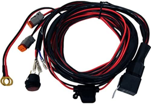 [DIAGRAM_5FD]  Amazon.com: Rigid Industries 40196 Wire Harness for D2 LED Light Pair Car  Accessories: Sports & Outdoors | Rigid Wire Harness |  | Amazon.com