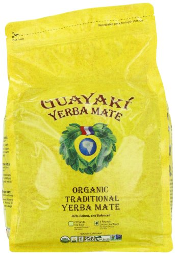 Guayaki Traditional Yerba Mate Tea, 5 Pound 1 Yerba mate was discovered centuries ago by the indigenous people in South America and has been consumed to enhance vitality, clarity, and well-being. With
