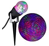 Gemmy Lightshow Swirling Kaleidoscope Projection Light Purple ,Blue ,Green for House,Trees,Holiday Decor Parties!