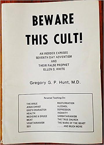 ellen white cult