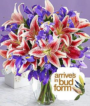Joyful Bouquet (with FREE glass vase) - Flowers