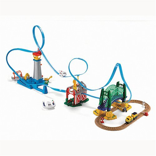 Fisher-Price GeoTrax GeoAir High-Flyin' Airport Mega Set