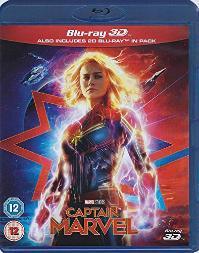 Captain Marvel (3D Blu-ray + Blu-ray)
