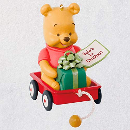 Hallmark Keepsake Keepsake Ornament, Pooh (Pooh Christmas Ornament)