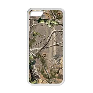 Happy Realtree Camo Hunting Gear Cell Phone Case for Iphone 5C