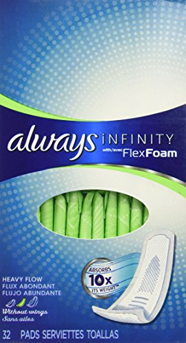 Always Infinity Pads - Heavy Flow without Wings Unscented