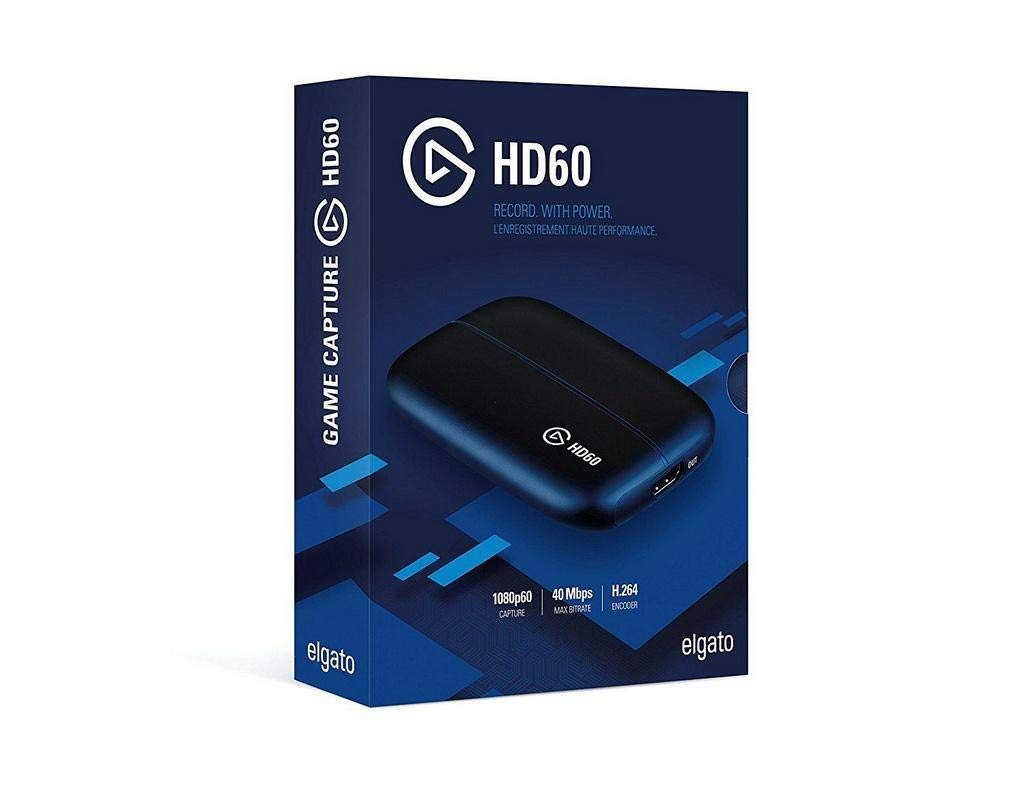 Elgato 10025015 Game Capture HD60 - Functions: Video Game Capturing - USB 2.0 (Elgato10025015) (Renewed)