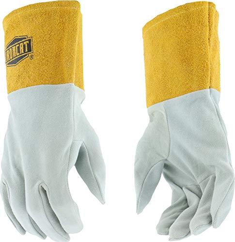 West Chester IRONCAT 6130 Premium Split Deerskin Leather TIG Welding Gloves: Medium, 1 Pair (Deerskin Welding Gloves)