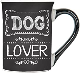 Dog Lover Mug, Dog Lover Coffee Cup, Ceramic Dog Lover Mug, Custom Dog Lover Gifts By Tumbleweed