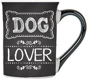 Dog Lover Mug, Dog Lover Coffee Cup, Ceramic Dog Lover Mug, Custom Dog Lover Gifts By Tumbleweed