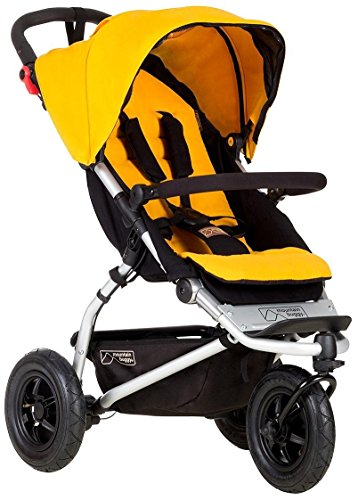 Mountain Buggy Swift Compact Stroller, Gold ()
