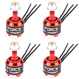 nidici 4pcs iF1407 4100kV Brushless Motor Support 3-4S for FPV Racing Quadcopter 130mm-180mm Drone