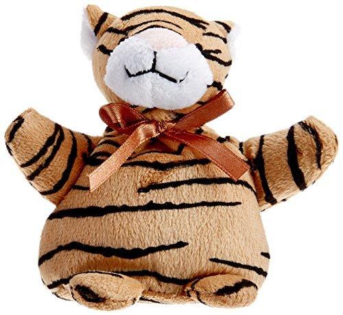 Dreamtime Spa Comforts Pocket Critter Tiger, Tan/Black by DreamTime