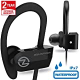 Wireless Bluetooth Headphones ZEUS OUTDOOR Waterproof IPx7 HD Sound Best Wireless Earbuds Earphones with Microphone Workout Running Sports Headphones Bluetooth Headset for Gym