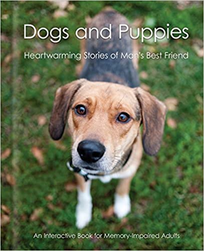 dogs and puppies book cover