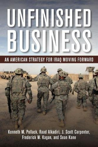 Unfinished Business: An American Strategy for Iraq Moving Forward