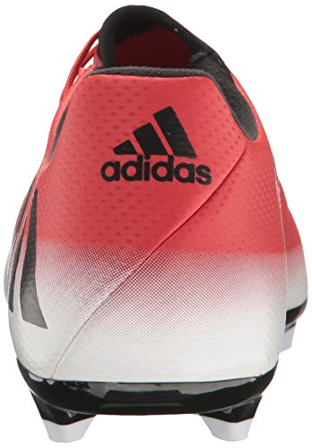 Messi Shoe Red Soccer Fg 16 adidas White Men's 3 Black f5x54Z