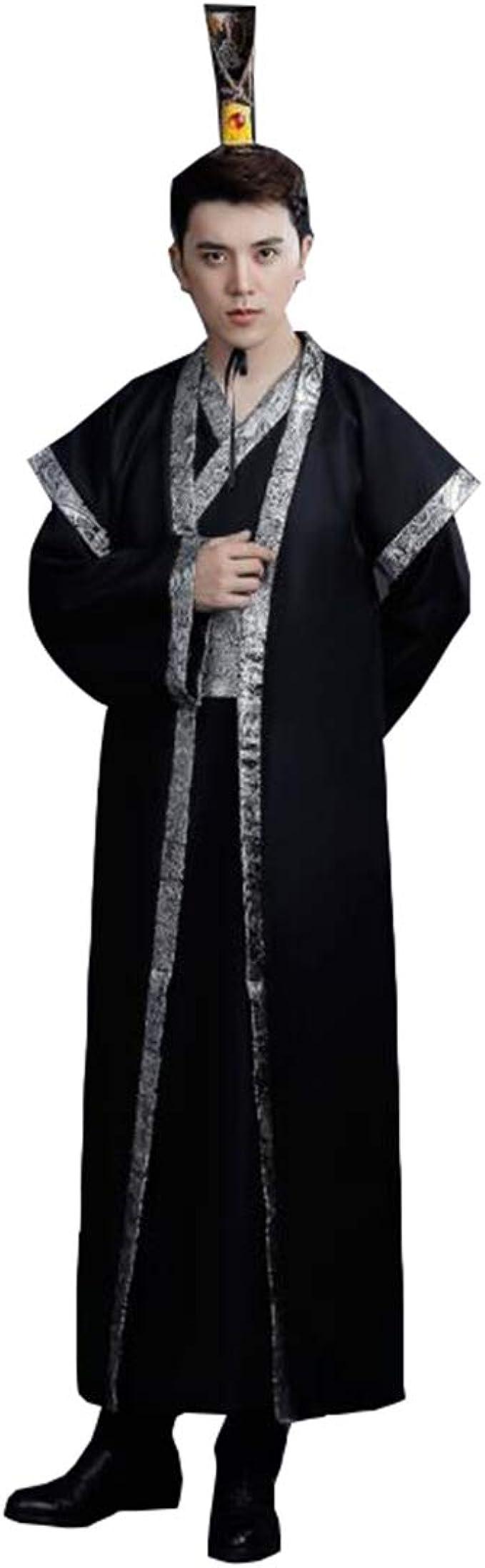 Amazon.com: Ez-sofei - Vestido largo para hombre, traje ...
