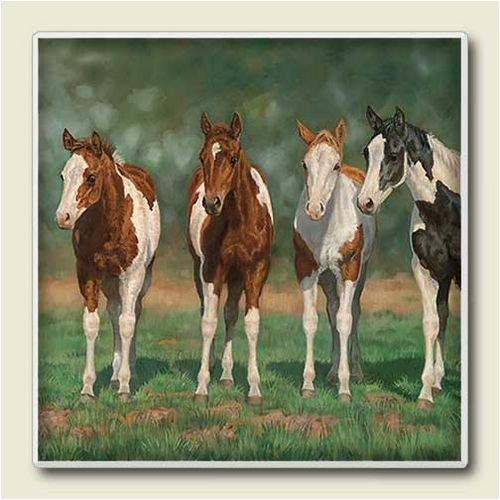 Absorbastone Pint Size Paints ~ Artworks Home Accents ~ Trivet