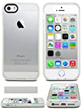 iPhone 5 Case, iPhone 5S Case, Case Ace® Silicone Slim Protective iPhone 5 5S Case Cover for Apple iPhone 5/5S (White)