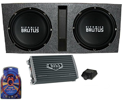15 inch subwoofer amp package - 6