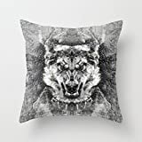 throw pillow case of dogs,for chair,kids,valentine,outdoor,drawing room,bar 20 x 20 inches / 50 by 50 cm(two sides)