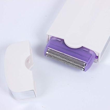 Depiladora Eléctrica para Mujer, Trimmer Set Afeitadora Eléctrica ...