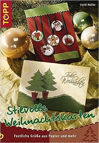 Stilvolle Weihnachtskarten Festliche Grüße Aus Papier Und Mehr