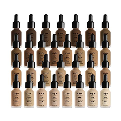 NYX PROFESSIONAL MAKEUP Total Control Drop Foundation - Cinnamon, Medium With Neutral Undertone