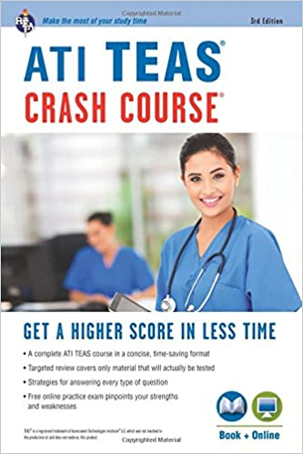 ati teas crash course book online nursing test prep