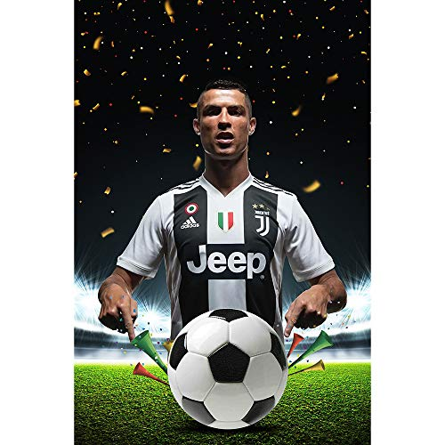 Earendel Superstar Cristiano is Coming! Ronaldo Joins Juventus Memorial HD Poster Fans Home Decoration Sports Wall Stickers