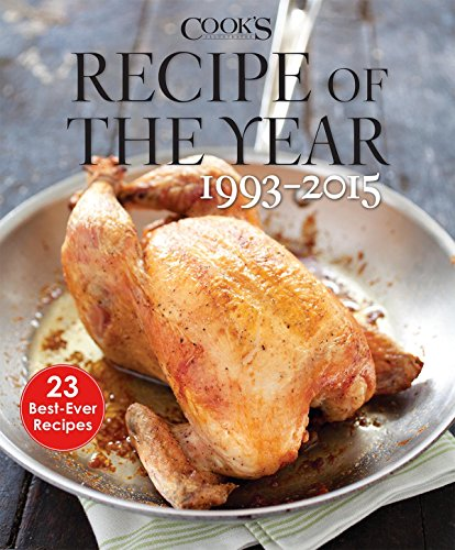 Recipe of the Year 1993-2015: 23 Best-Ever Recipes