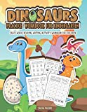 Dinosaurs Practice Workbook for Kindergarten: Sight Words Reading Writing Activity Workbook for Children