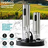 Ivation Wine Gift Set, Includes Stainless Steel