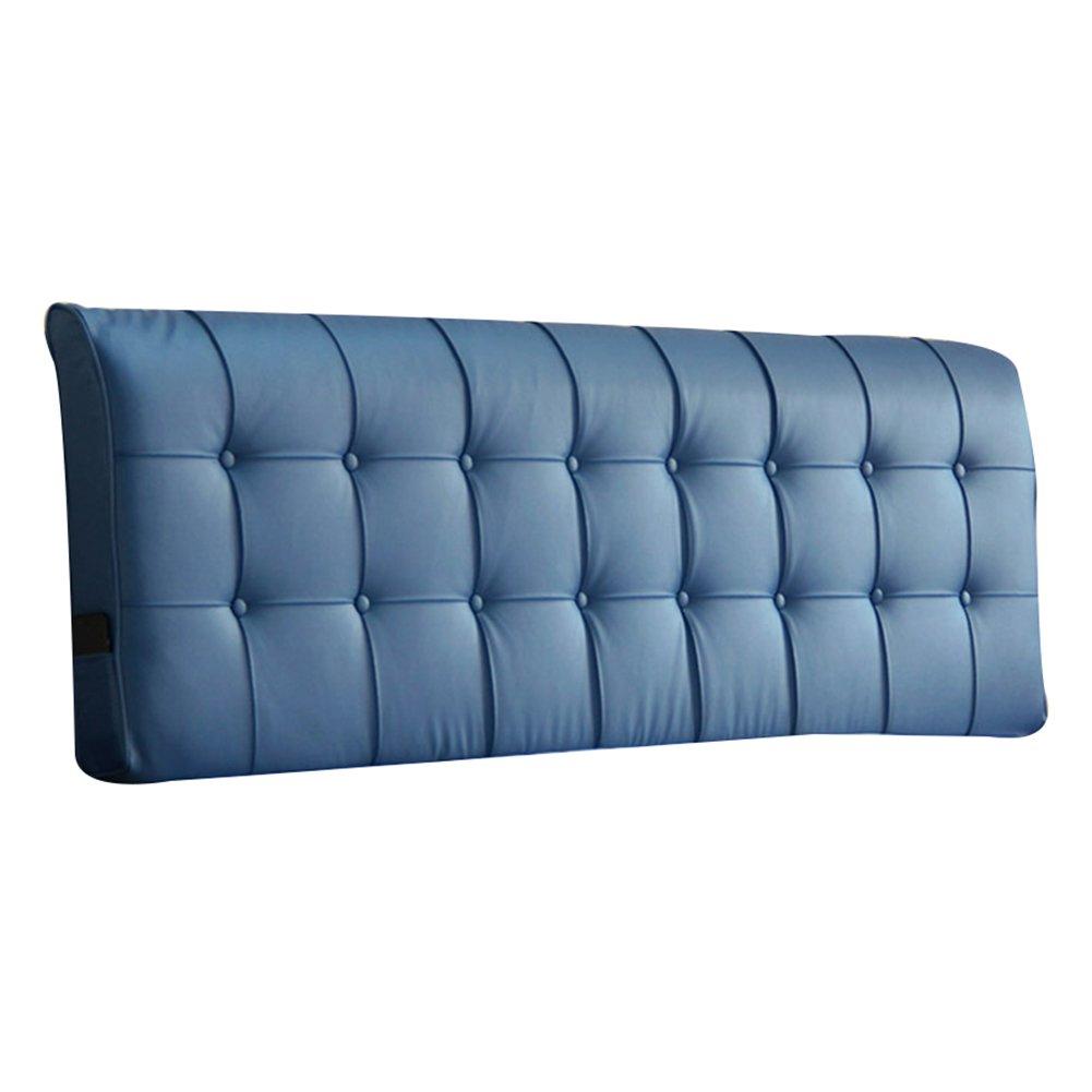 GXY Stoffbett Soft Pack große Rückwand Bildschirm zurück europäischen Langen Rücken Eingestellt Kissen (Farbe : Pink, größe : 123x10x55cm)