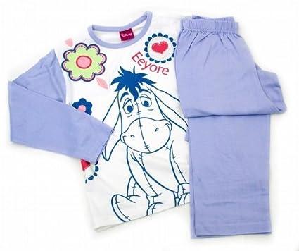 b736170e5ca2 Kids Childrens Disney Winnie the Pooh Eeyore Long Sleeve Pyjamas Nightwear  in Lilac (7-8 years) (Lilac)  Amazon.co.uk  Clothing