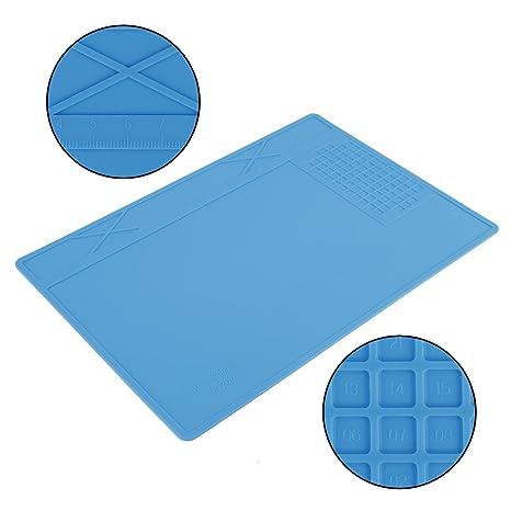 Amazon.com: Soldering Mat,Heat Resistant Soldering Silicone ...
