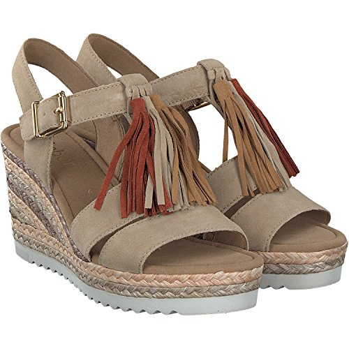 Gabor Women's Shoes 65.791.10 Women's Sandals beach/hazel/havana 40HehM3qRL