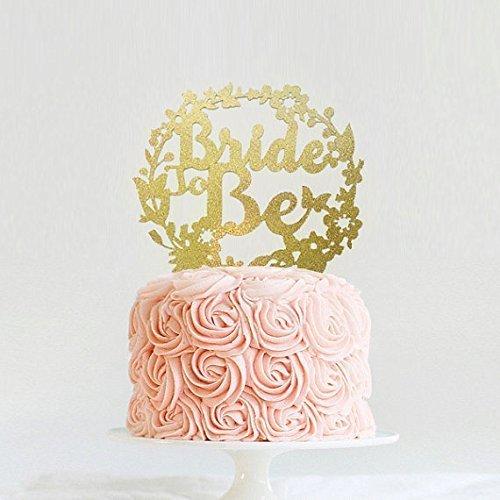 bridal brunch decorations bridal shower cake topper bride to be cake topper vintage