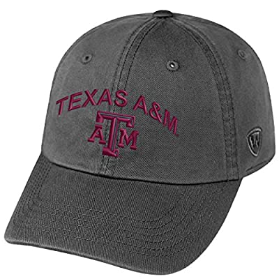 Top of the World Texas A&M Aggies Official NCAA Adjustable Champ Hat Cap Curved Bill by 224596 by Top of the World