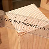 Clear Flex Center Finding Ruler, Ideal for