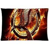 Custom The Hunger Games Pillowcase Standard Size 20x30 Cotton Pillow Case P1289 by Chris DIY