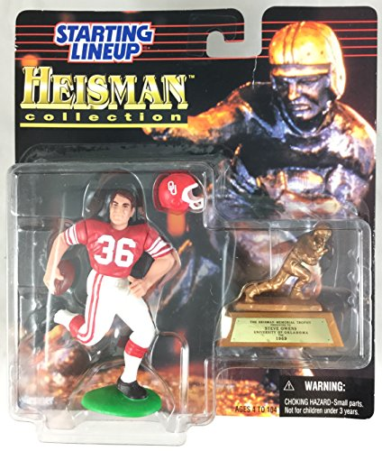 1997 KENNER STARTING LINEUP NCAA HEISMAN COLLECTION STEVE OWENS UNIVERSITY OF OKLAHOMA SEALED IN PACKAGE - Ncaa Line