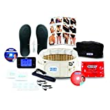 DR-HO'S 2-in-1 Decompression Belt For Lower Back Pain Relief and Lumbar Support - Deluxe Package (Includes DR-HO'S Pain Therapy System Pro and More) - Size A (25-41 Inches)